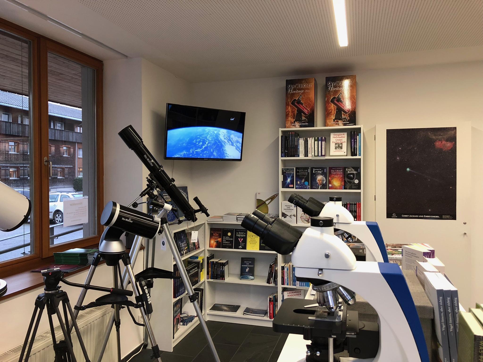 Teleskope und Mikroskope