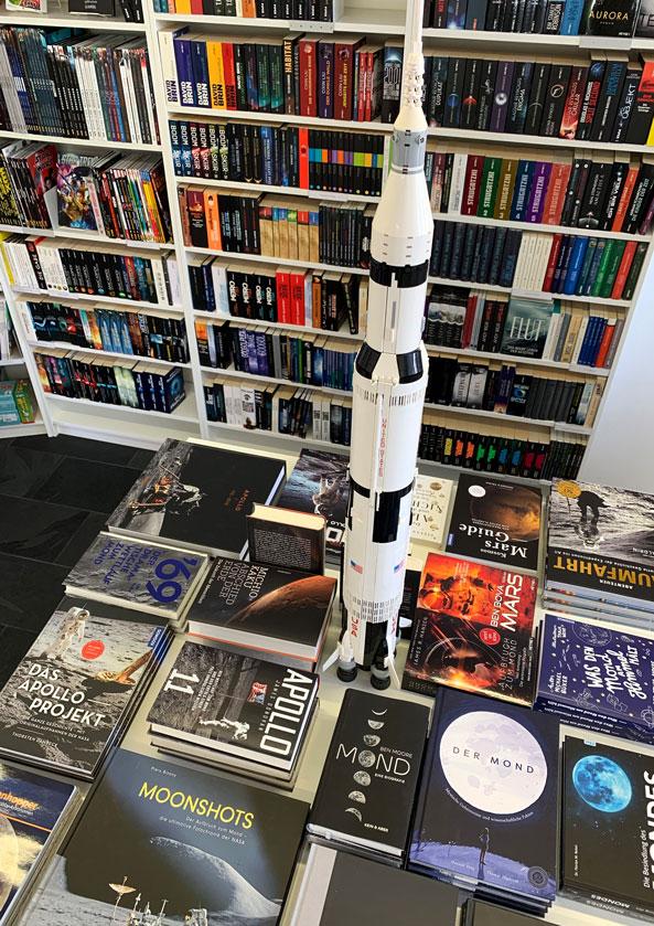 Bücher zur Mondlandung Mond und Raumfahrt
